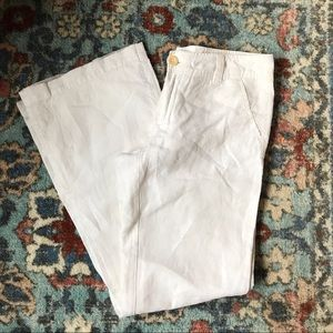 Gap 100% linen pants